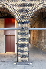 Coal Drops Yard by Heatherwick Studio is a retail district in London King's Cross, UK - ARC105741