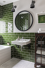 Bathroom of a redesigned and remodelled family home in West London, UK - ARC105814