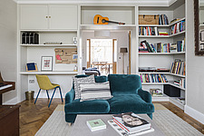 Living room in a redesigned and remodelled family home in West London, UK - ARC105828