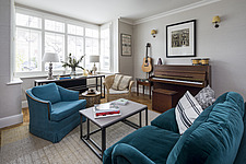 Living room in a redesigned and remodelled family home in West London, UK - ARC105831