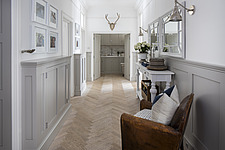 Hallway in a refurbished apartment in Hove, East Sussex, UK - ARC105848