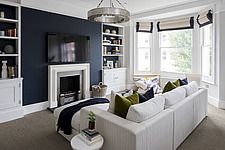 Living room in a refurbished apartment in Hove, East Sussex, UK - ARC105850