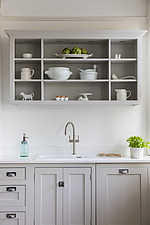 Kitchen in a refurbished apartment in Hove, East Sussex, UK - ARC105857