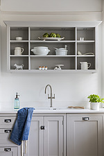 Kitchen in a refurbished apartment in Hove, East Sussex, UK - ARC105858