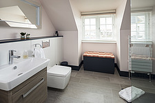 Bathroom of a renovated house by the sea in Hampshire, UK - ARC105878