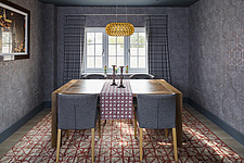 Dining room in a renovated house by the sea in Hampshire, UK - ARC105893