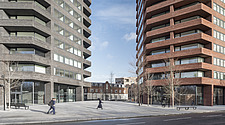 Hoxton Press is a residential project located at the south-west corner of the Colville Estate, a housing development in Hackney, East London - ARC106166