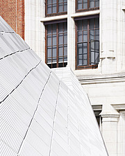 Exterior detail of Exhibition Road Quarter at the Victoria and Albert Museum, London UK - ARC106531