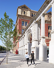 Exterior of the Exhibition Road Quarter at the Victoria and Albert Museum, London UK - ARC106543