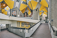 Exterior of Cube Houses, Rotterdam, Netherlands - ARC107401
