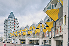 Exterior of Cube Houses, Rotterdam, Netherlands - ARC107402