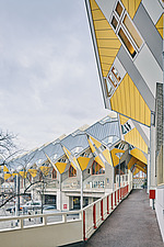 Exterior of Cube Houses, Rotterdam, Netherlands - ARC107408