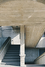The Royal National Theatre on London's South Bank - ARC108131