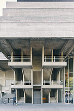 The Royal National Theatre on London's South Bank - ARC108139