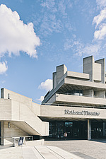 The Royal National Theatre on London's South Bank - ARC108143