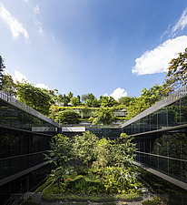 Winner of the World Architecture Festival Building of the Year 2018, Kampung Admiralty is a integrated public facility designed to create inter-genera... - ARC108728