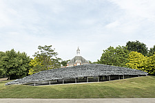 Serpentine Pavilion 2019 which is on the Serpentine Gallery's lawn in Kensington Gardens, London, UK - ARC108835