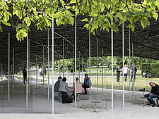 Serpentine Pavilion 2019 which is on the Serpentine Gallery's lawn in Kensington Gardens, London, UK - ARC108836
