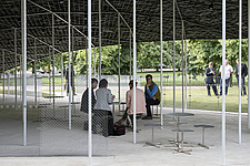 Serpentine Pavilion 2019 which is on the Serpentine Gallery's lawn in Kensington Gardens, London, UK - ARC108837