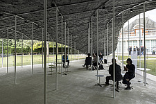 Serpentine Pavilion 2019 which is on the Serpentine Gallery's lawn in Kensington Gardens, London, UK - ARC108839