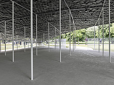Serpentine Pavilion 2019 which is on the Serpentine Gallery's lawn in Kensington Gardens, London, UK - ARC108843