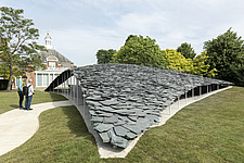 Serpentine Pavilion 2019 which is on the Serpentine Gallery's lawn in Kensington Gardens, London, UK - ARC108845