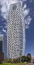 The Mode Gakuen Cocoon Tower in Tokyo, Japan - ARC109044