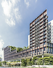 Kampung Admiralty in Singapore, a green community integrated development - ARC109094