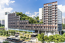 Kampung Admiralty in Singapore, a green community integrated development - ARC109096