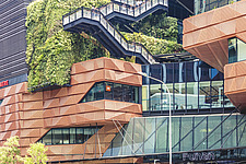 Funan Singapore - Integrated Mixed-Use Hub with experiential retail, Singapore, completed in June 2019 - ARC109213