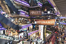 Funan Singapore - Integrated Mixed-Use Hub with experiential retail, Singapore, completed in June 2019 - ARC109214