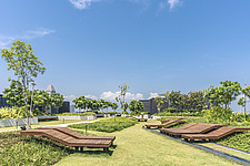 Funan Singapore rooftop garden- Integrated Mixed-Use Hub with experiential retail, Singapore, completed in June 2019 - ARC109220