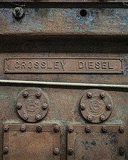 Engine Nameplate, Crossness Pumping Station, Thamesmead, UK - ARC109503