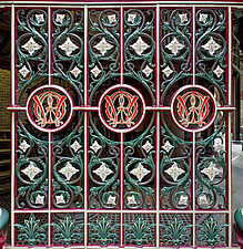 Decorative Ironwork, Crossness Pumping Station, Thamesmead, UK - ARC109506