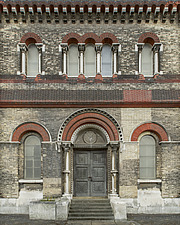 Rear Exterior Facing, Crossness Pumping Station, Thamesmead, UK - ARC109508
