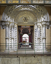 Ornate Doorway, Crossness Pumping Station, Thamesmead, UK - ARC109512