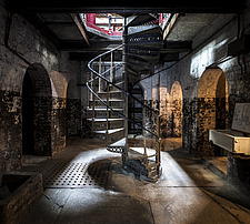 Spiral Stair, Crossness Pumping Station, Thamesmead, UK - ARC109518