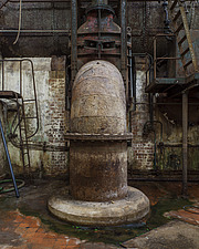 Sewage Pipe, Crossness Pumping Station, Thamesmead, UK - ARC109519