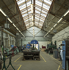 Workshop, Crossness Pumping Station, Thamesmead, UK - ARC109522