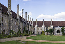 Almeshouses, Hospital of St Cross and Almshouse of Noble Poverty, Winchester, UK - ARC109523