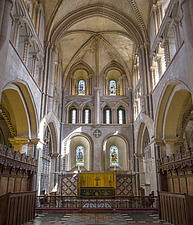 Altar, Hospital of St Cross and Almshouse of Noble Poverty, Winchester, UK - ARC109524