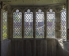 Dusty windows, Hospital of St Cross and Almshouse of Noble Poverty, Winchester, UK - ARC109529