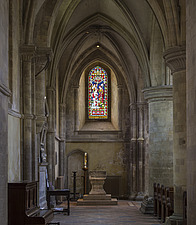 Side wing in the Chapel, Hospital of St Cross and Almshouse of Noble Poverty, Winchester, UK - ARC109536