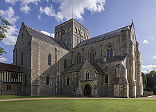 Exterior of the Chapel, Hospital of St Cross and Almshouse of Noble Poverty, Winchester, UK - ARC109539