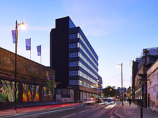 Exterior of Arnold House, Shoreditch, London UK - ARC109759