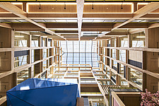 Interior of The Import Building at Republic, East India Dock, London, UK - ARC109774