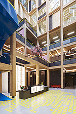 Interior of The Import Building at Republic, East India Dock, London, UK - ARC109775