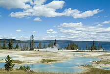 Geyser Basin, Yellowstone National Park, Wyoming, USA - 11488-200-1