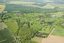 Croxton Park, an early 16th century deer park which incorporates earthwork remains and was enlarged and landscaped in the early 19th century, Cambridg... - ARC108159
