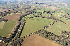 Humphry Repton designed landscape park at Sarsden Park, Chipping Norton, Oxfordshire - ARC108162